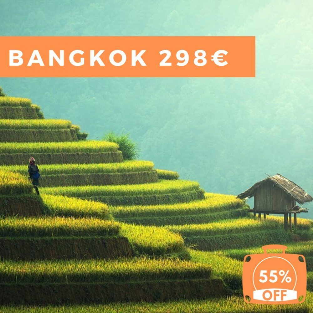 Viajar a Tailandia por menos de 300€