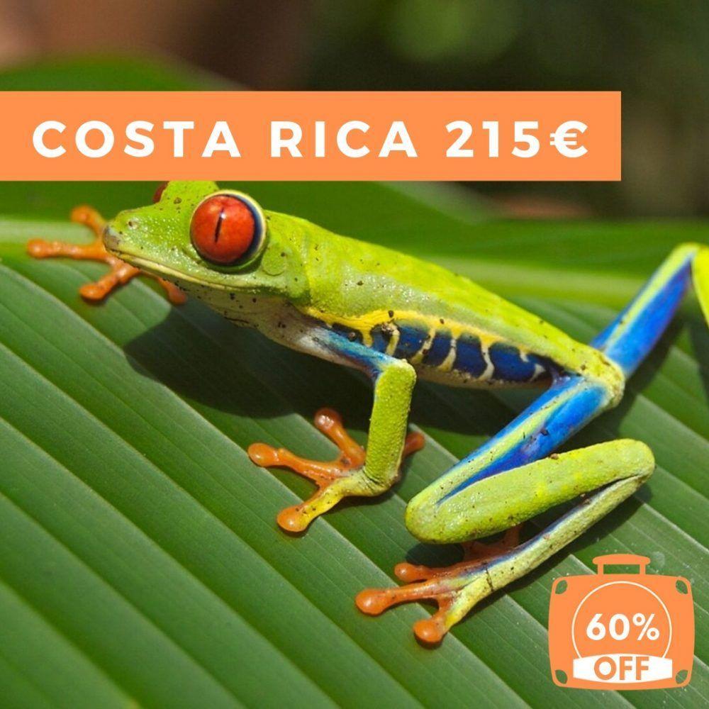 Viajar a Costa Rica por 215€