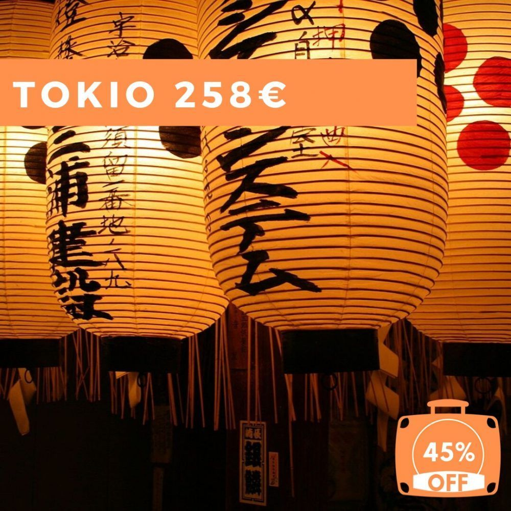 Viajar a Japón, Tokio por 258€