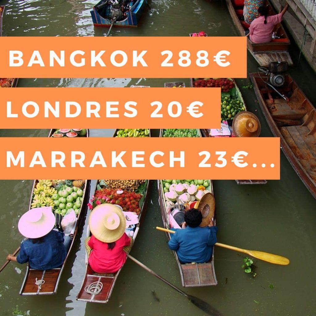 Vuelos baratos Tailandia Londres