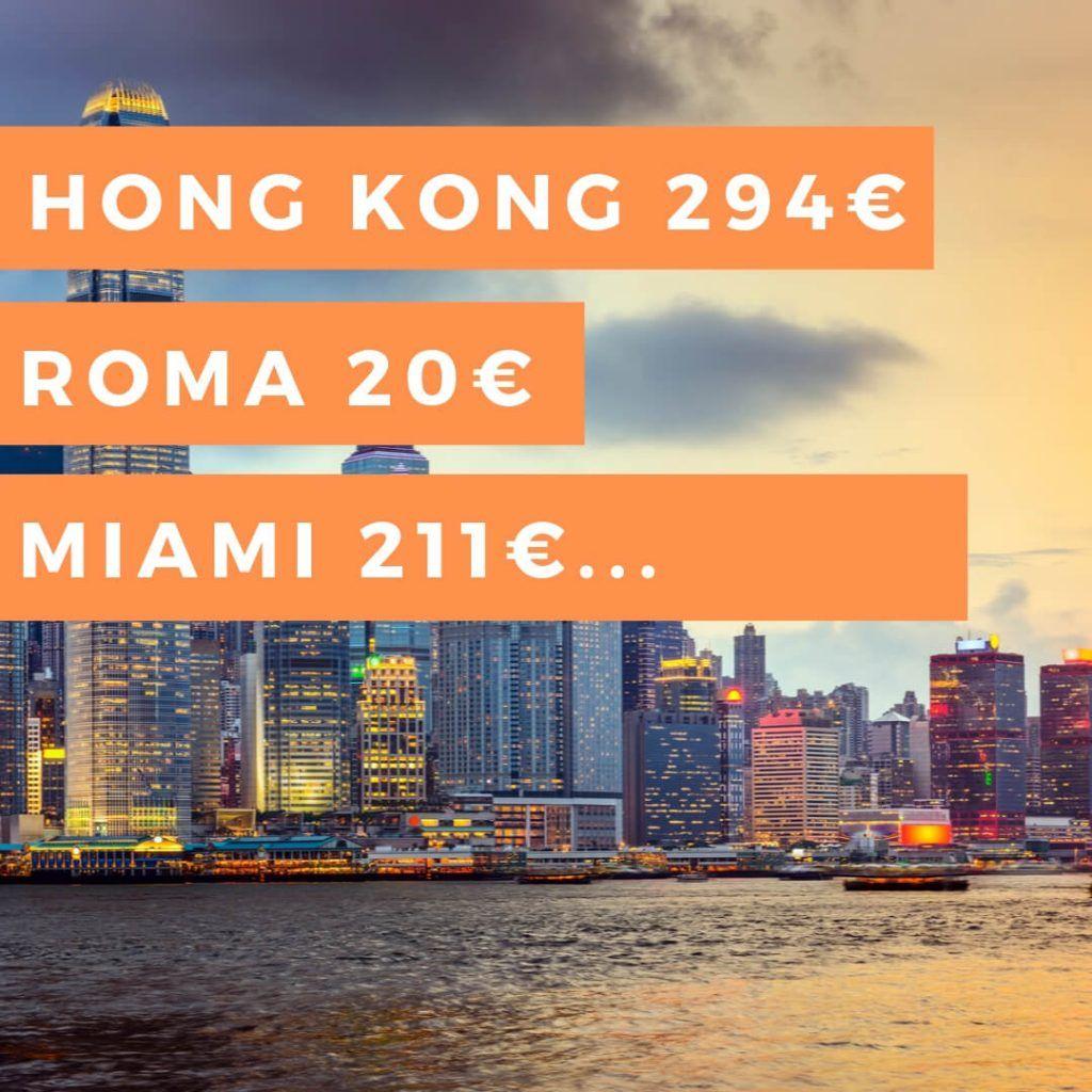 vuelo Hong Kong barato