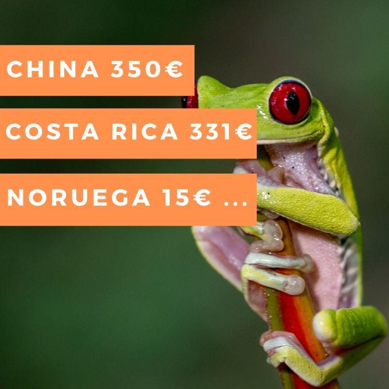 vuelo barato Costa Rica