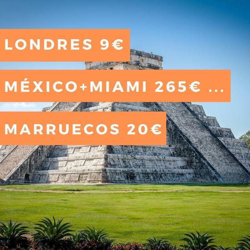 vuelo barato Miami Mexico